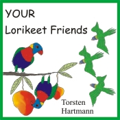 Lorikeet Friends... for siblings and friends